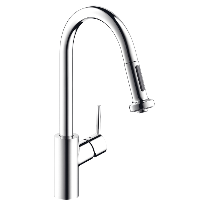 Hansgrohe 14877801 Talis S Kitchen Faucet With Pull Down