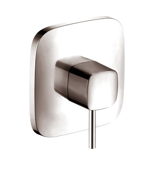hansgrohe 15407001 puravida pressure balance trim. Black Bedroom Furniture Sets. Home Design Ideas