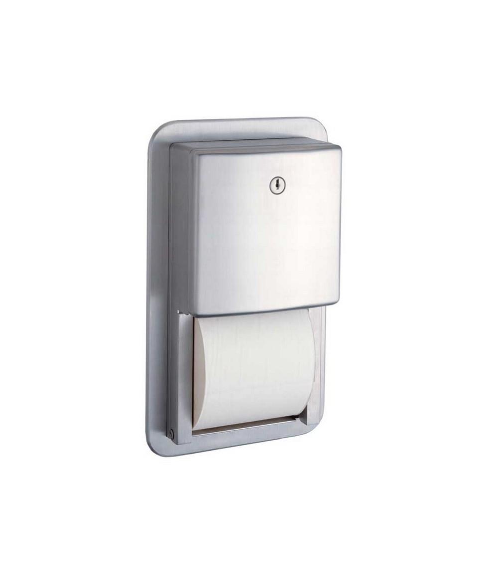 Bobrick b 4388 multi roll toilet tissue dispenser for Toilet accessories