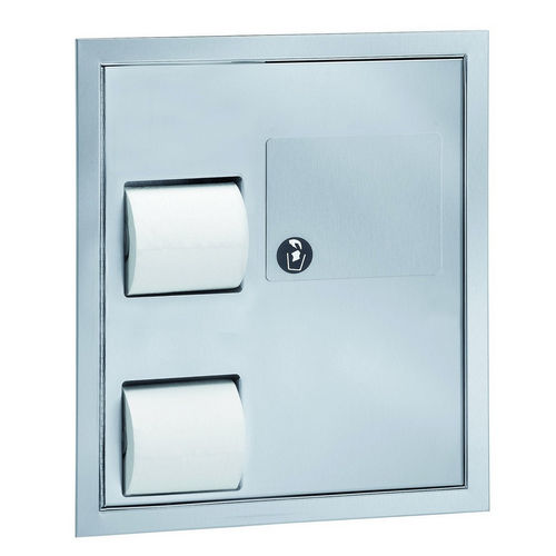 Bradley 5941 In-Stall Combination Unit Partition Mounted