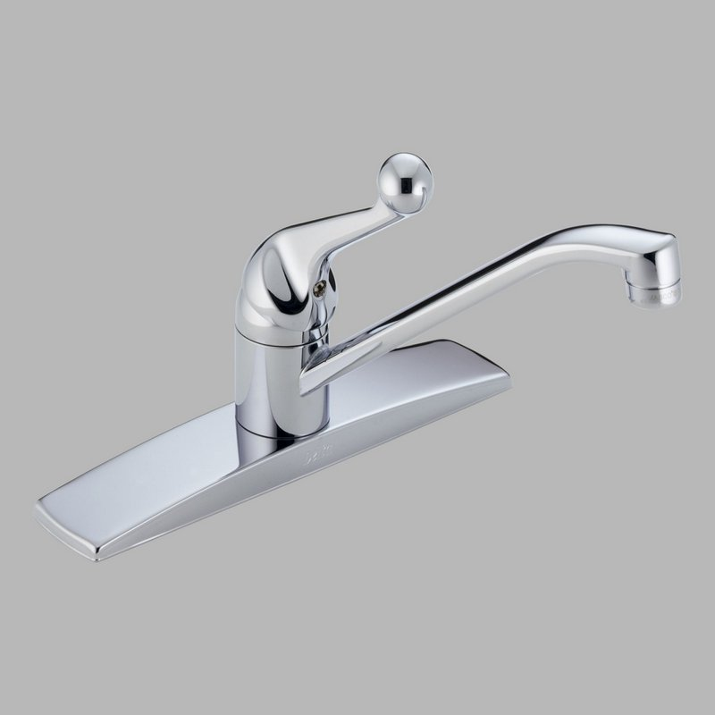 Delta Faucets Kitchen On Delta Waterfall 174 Pbwf Brillance Polished ...