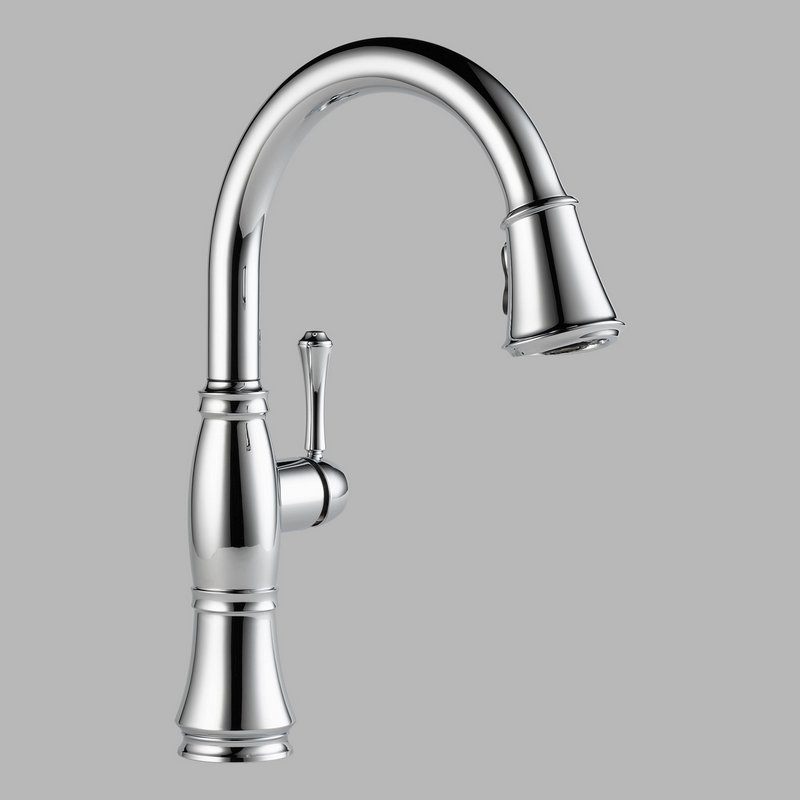 Home > Plumbing > Faucets > Delta 9197-DST Pull Down Kitchen Faucet