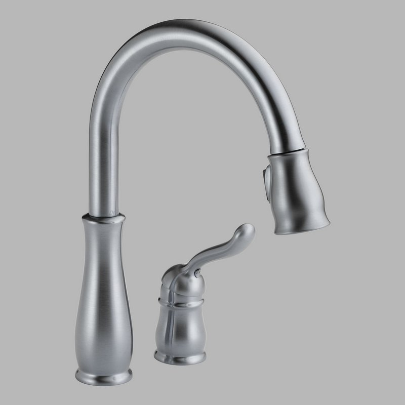 Home > Plumbing > Faucets > Delta 978-AR-DST Pull-Down Kitchen Faucet