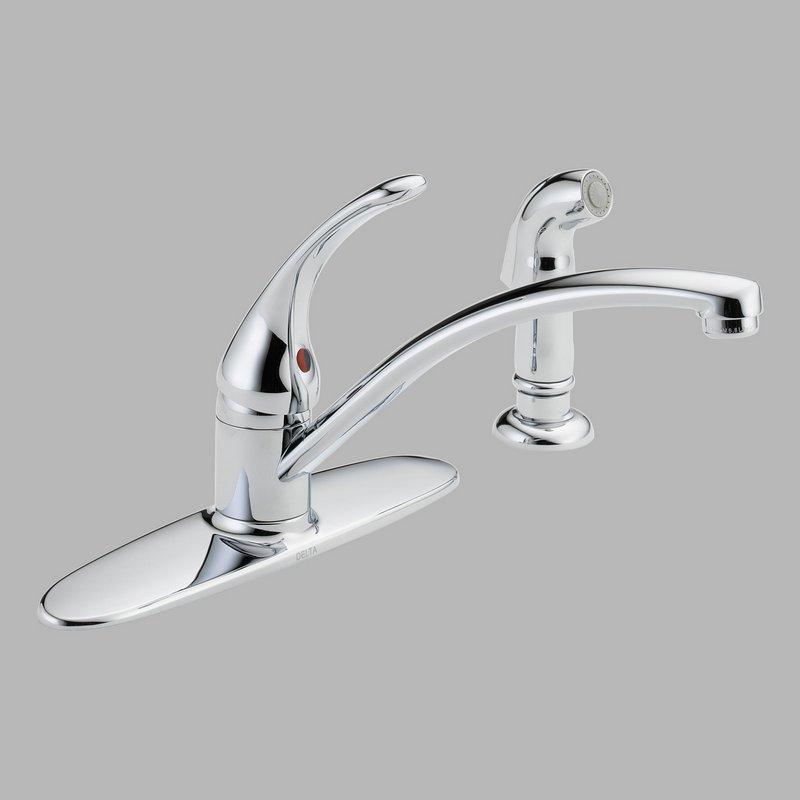 Delta Kitchen Faucet Repair : ... Faucets > Kitchen Faucets > Delta B4410LF Kitchen Faucet with Spray