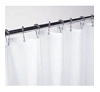 Gamco 100SC Shower Curtain with Grommets, Requires 8 Hooks