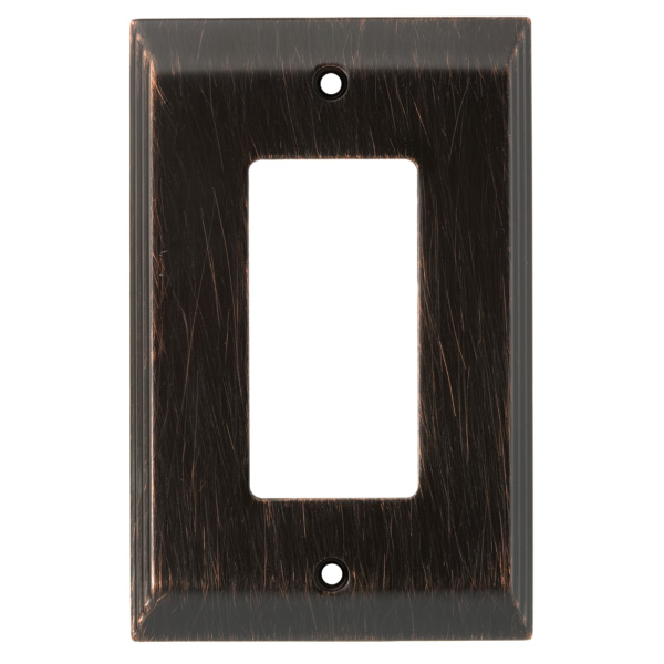 Franklin Brass 126407 Stately Single Decorator Wall Plate