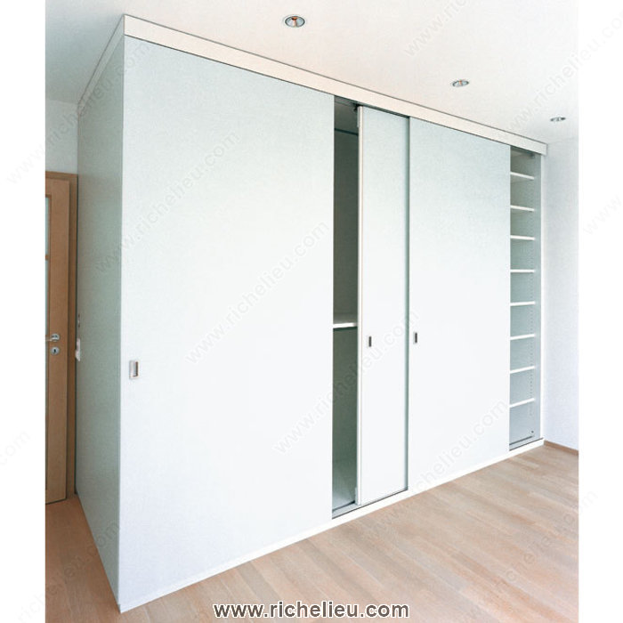 Richelieu 8913233 system for sliding cabinet doors with for Quality doors