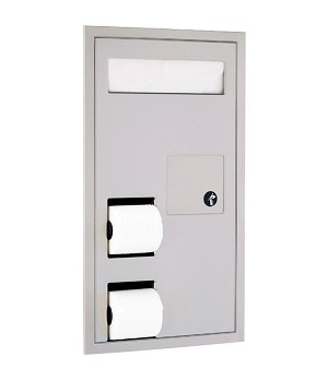 Gamco TSC-5P Partition-Mounted Combination Unit