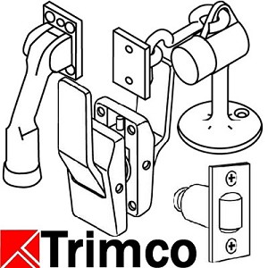 Trimco 1097VD98-99HA Anti-Vandal Pull for IR Device ONLY, Satin Stainless