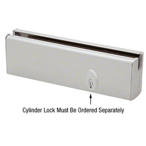 CRL DR2SSA12PL Low Profile Door Rail With Lock