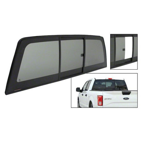 CRL ECT915S Tri-Vent Three Panel Slider for 2015+ Ford F-150