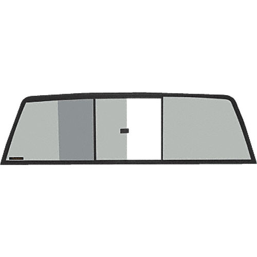 CRL TRV610S Tri-Vent Three Panel Slider with Solar Glass