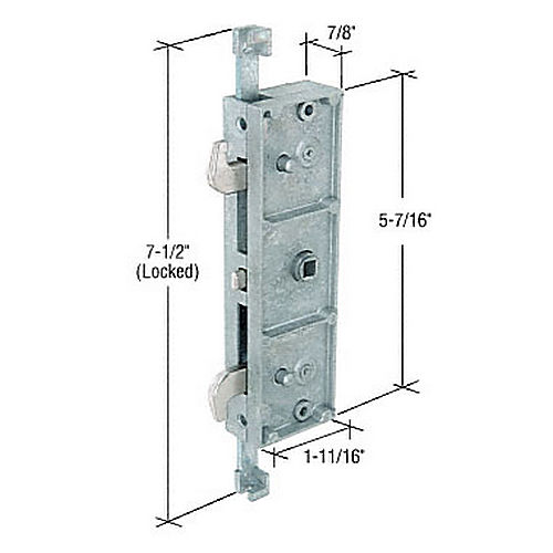 CRL E2192 Two-Point Mortise Lock