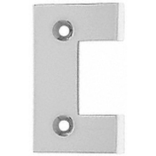 CRL G2SC Geneva Series Standard Cover Plate for the Door Side, Satin Chrome