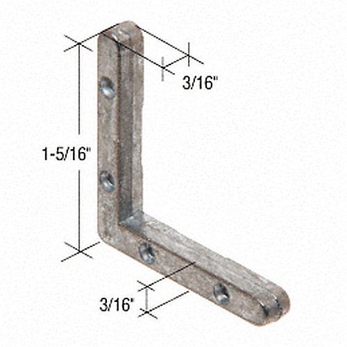 CRL G3022B Window Frame Corners for Bel-Air Windows Bulk 100 Pack