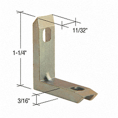 CRL G3023B Window Frame Corners for Mayfair Windows, Bulk 100 Pack