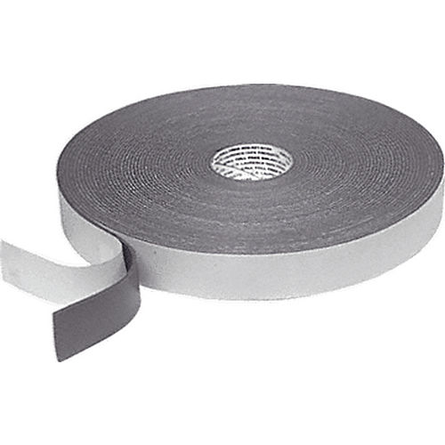 CRL 74418X112GRY Single Sided Foam Glazing Tape, Gray