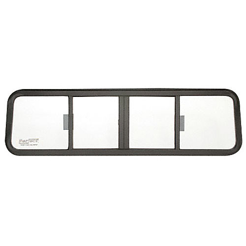 CRL TSW1070B Four Panel Duo-Vent Sliders for 1980-1983 Volkswagen Rabbit