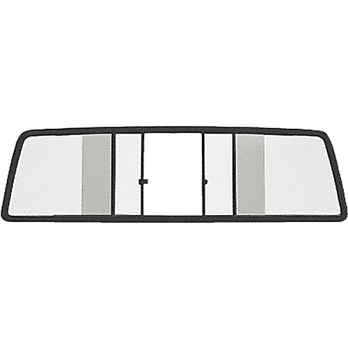 CRL TSW1060B Four Panel Duo-Vent Sliders for 1986.5-1997 All Nissan Cabs