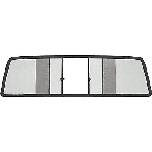 CRL TSW910LT Duo-Vent Four Panel Sliders for 1986-1996 Dodge Dakota Extended Cab