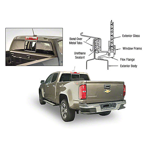 CRL ECT815S Sliders for 2015+ Chevy Colorado/GMC Canyon