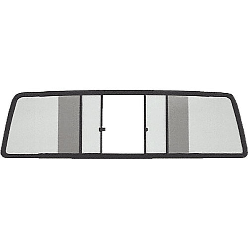 CRL TSW1025LT Four Panel Duo-Vent Sliders for 1979-1983 Toyota Standard Cabs