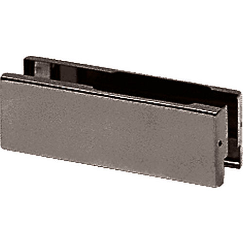 CRL 1NT101DU Bronze Anodized Patch Fitting Replacement Cover Plate for PH10-11-20-21, Black