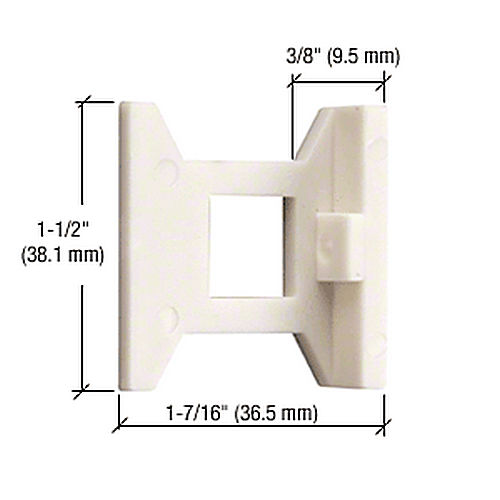 CRL DL2210SG Standard Flush Bolt Guide