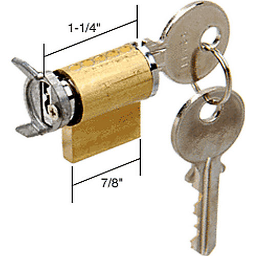 CRL E2003 Cylinder Lock with Latch Activator for Weiser Kwikset and Weslock