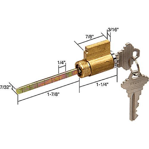 Crl E2104 Cylinder Lock For Schlage Keyed Alike