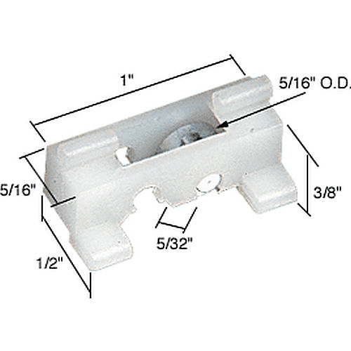 CRL G3008 Sliding Window Roller for Olson Windows