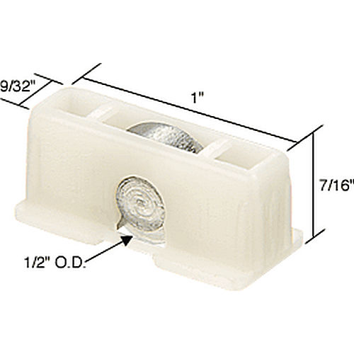 CRL G3089 Sliding Window Roller for Superlite Series 8000 Windows