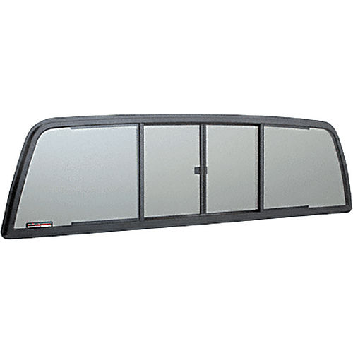 CRL TSW1460S Four Panel Duo-Vent Sliders for 1989-1995 Toyota SR5 Xtra Cabs