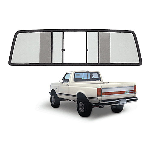 CRL TSW200LT Four Panel Duo-Vent Sliders for 1967-1972 All Ford Cabs