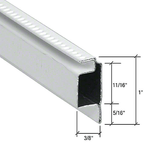 Crl wsfl8w roll formed reverse lip screen frames for Rollaway screen door parts