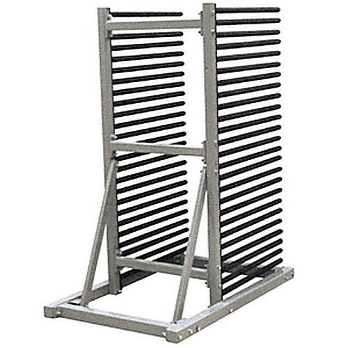 crl wssr25 25 lite freestanding single side windshield rack