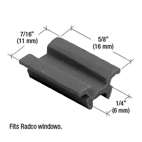 CRL G3028 Window Top Guide for Radco