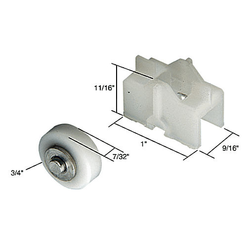 CRL G3049 Sliding Window Roller for Crossly Windows