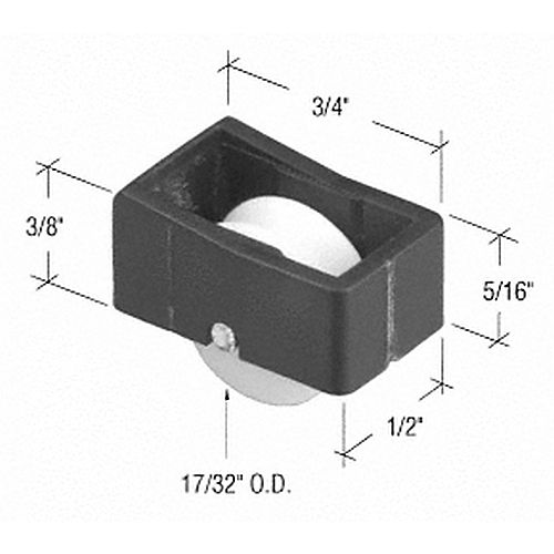 CRL G3064 Sliding Window Roller for Window Master Windows