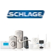 Schlage 16-200 Springlatch Univ Square F Series, Satin Chrome