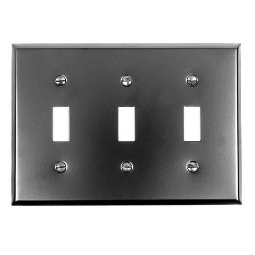 Acorn AW3BP Toggle Switch Plate 3