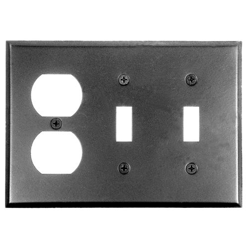 Acorn AW7BP Duplex Wall Plate 2 Toggle