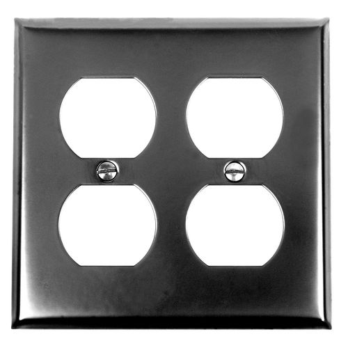 Acorn AW8BP Double Duplex Wall Plate