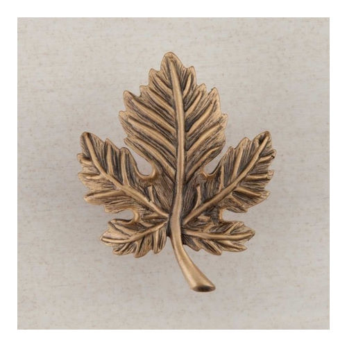 Acorn DQ4GP Artisan Collection Knob Leaf 1-3/4