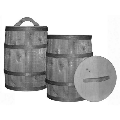 Tremont TLID Wooden Nail Keg Lid