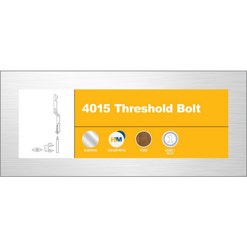 Adams Rite 4015-15-IB Threshold Bolt