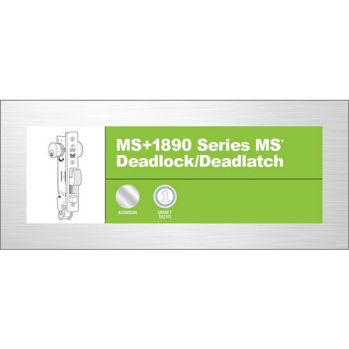 Adams Rite MS+1890-2015-313 MS+ Deadlock/Latch, Dark Bronze