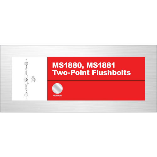 Adams Rite MS1881-03-682 2-Way Bolt