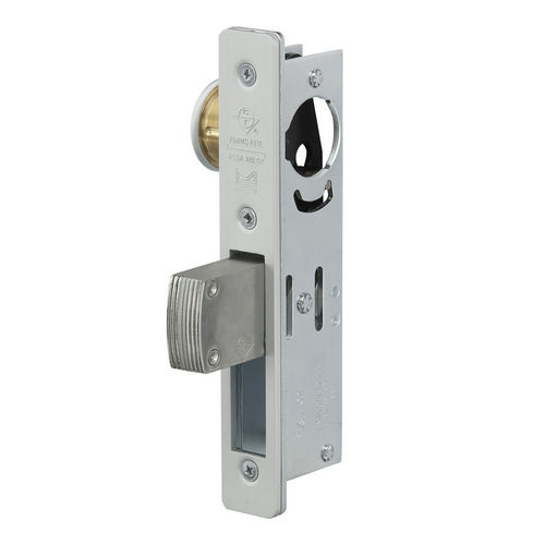Adams Rite MS1850S-410-628 MS Deadlock, Clear Aluminum Anodized