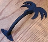 Agave Ironworks PU044-01 Small Palm Tree Pull, Flat Black